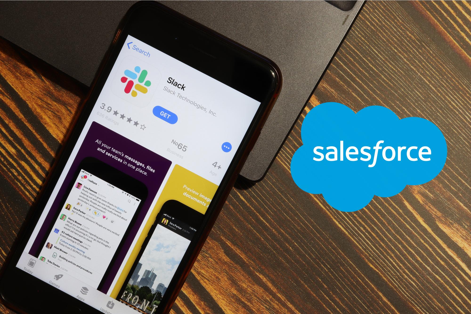Salesforce e slack